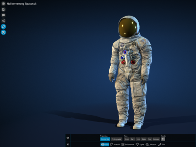Image of a space suit