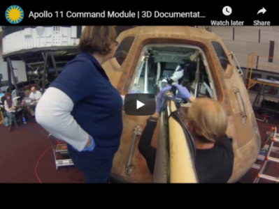 People working on Apollo 11 Command Module