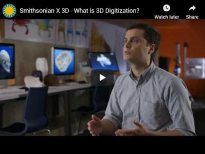 Man talking about 3D